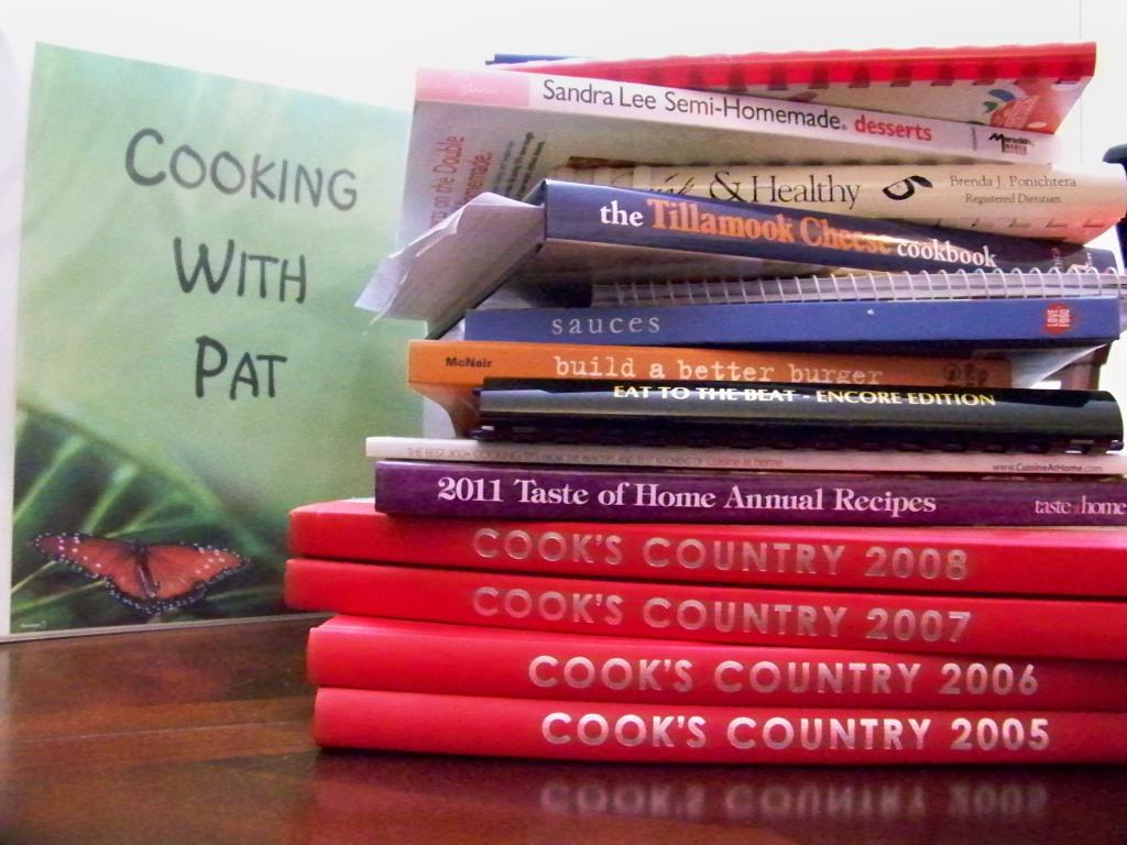 Cookbooks Galore...