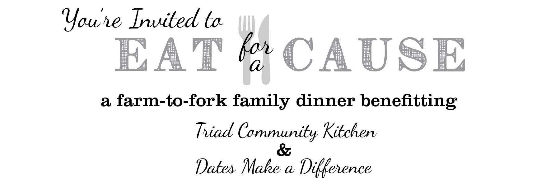 Dates Make a Difference: Eat for a Cause event – The Onyx Plate