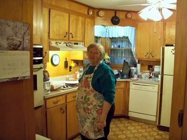 Maw-Maw in Kitchen